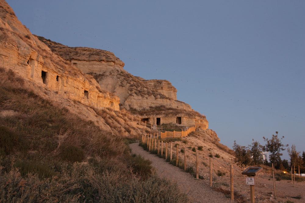 Arguedas-Cuevas-Atardecer